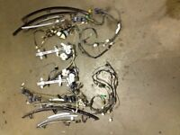 1989 MAZDA RX7 CONVERTIBLE COMPLETE DOOR ASSEMBLY