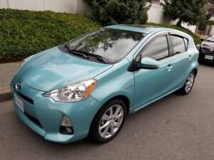 2012 Toyota Prius C Hybrid, low mileage only 57350 kms