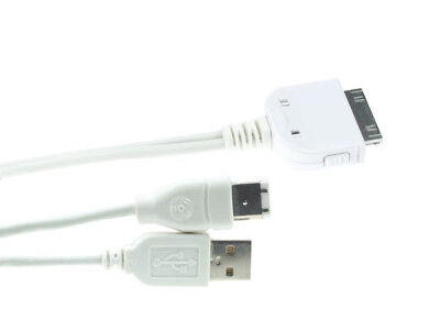 Velleman PCMP12 Y-CABLE - DOCK CONNECTOR TO USB 2.0 + FIREWIRE FOR iPOD