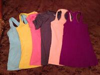 Women's Lululemon, Nike, Adidas