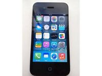 iPhone 4 black 8gb unlocked