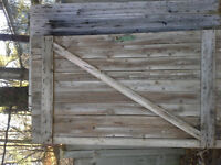 porte de grange bois de grange