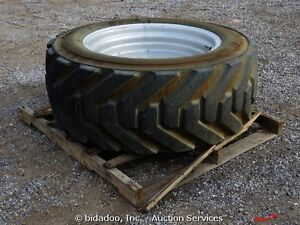 Foam filled manlift tires Strathcona County Edmonton Area image 1