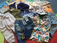 Bundle of boys clothes 12-24 months BNWT