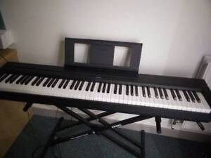 Yamaha piano P45 with Stand and Pedal (88 keys)