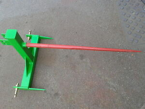 Bale-spike-3-point-linkage-attachment-compact-tractor-free-postage
