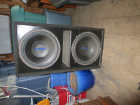 """Sub Woofer Box 2 XOrion 10"""""""