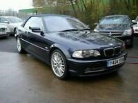 BMW 330CI AUTO, Convertible, 2-door Automatic