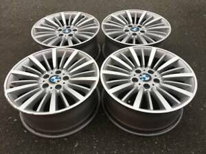 "Set of Genuine 18"" BMW Style 416 F30+ rims in good used cond"