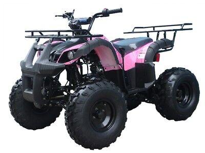 Mid size ATV 125cc Youth ATV  Utility Quad Kids 4 wheeler FREE s/h 125CC ATV