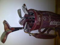 set de golf droitier wilson bettyberg pas cher idéal pr débutant