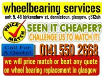 WHEELBEARING SERVICES car repairs wheel bearings cv joints welding steering suspension mot