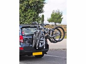 Aluminium Spare Tyre Mounted Bike Rack