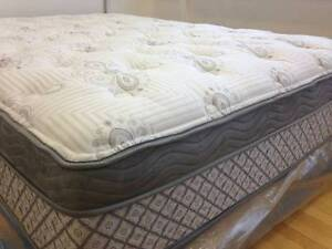 Brand New Luxury Mattresses in PLASTIC FROM HOME STAGING 50-80%