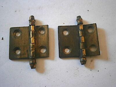 LONGCASE GRANDFATHER CLOCK  DOOR HINGES  C1790
