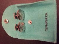 Tiffany Silver Cufflinks