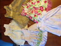 large lot of girls clothes