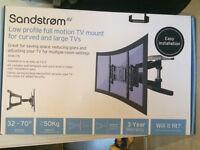 Tv Wall Bracket Curved Tv Full Motion 32 42 50 52 60 70