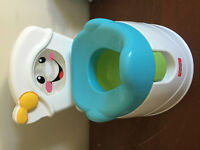 "Fisher Price ""learn to flush"" potty"
