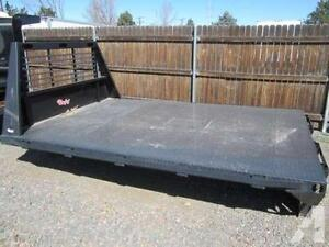 """12' 5"""" Flat Bed"""