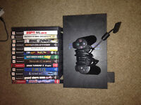 Playstation 2 with 13 games, 1 controller, and 1 memory card.