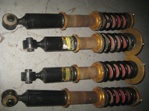 TOYOTA ALTEZZA LEXUS IS300 2JZ ADJUSTABLE COILOVERS JDM IS300