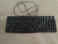 Logitech USB Keyboard & Mouse $20