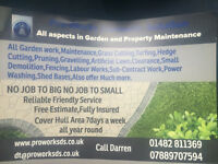 Pro-Works All aspects in Gardening Works an Property Works