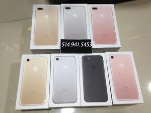 iphone 7 AND 7plus boxes 16GB , 32GB , 64GB,128GB ,  256GB BOXES with All Accessories ( NO iPHONE )