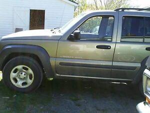 2003 Jeep Liberty Black Wagon