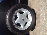 Mustang pony rims and tires for sale