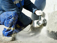 Help Required Grind and Parge Concrete Surface this weekend