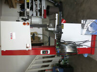 """18""""Bandsaw,buiscuit jointer, clamps,9pc rigid set,dowel joiner,"""
