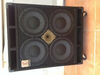 Eden D series 410XLT 4X10 Bass Speaker Cabinet (4ohms)