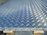 aluminium treadplate - checker plate - 5 bar - NORTHERN IRELAND
