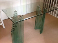 ART DECO STYLE GLASS TABLE. EXTREMLY STYLISH ART DECO STYLE GLASS TABLE. AND TOP QUALITY!