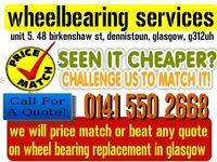 WHEELBEARING SERVICES car repairs wheel bearings cv joints welding steering suspension mot