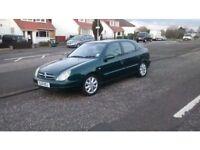 Citreon Zsara LX HDI 1997cc Diesel 2001 5 door saloon. Green £250 quick sale,