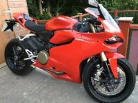 Ducati Panigale 1199 - low miles, pristine condition