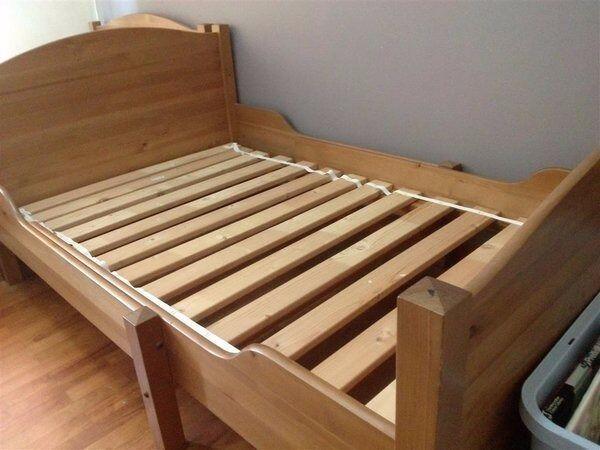 Ikea Leksvik Extendable Bed In Dundee Gumtree