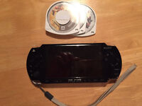 Sony PSP & 3 games inc charger