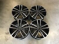 "18 19"" Inch Golf Seville Style Wheels VW Golf MK5 MK6 MK7 Audi A3 Seat Leon Caddy 5x112"
