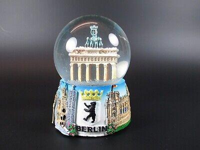 Schneekugel Berlin Brandenburger Tor Snowglobe,9cm,Souvenir Germany