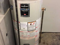 Furnace and water heater Change outs