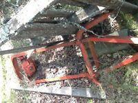 Massey Ferguson post hole auger