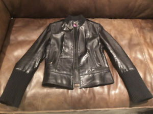 Women's Mackage Leather Jacket size small
