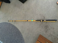 7' Eagle claw spinning rod