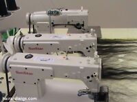 Three Head Hair Weft Machine, make wigs or extentions
