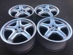 "Set of Genuine AMG 20"" wheels in good used condition for ML63"