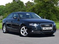 Audi A4 2.0 TDI 143 SE 4dr [Start Stop] (black) 2010